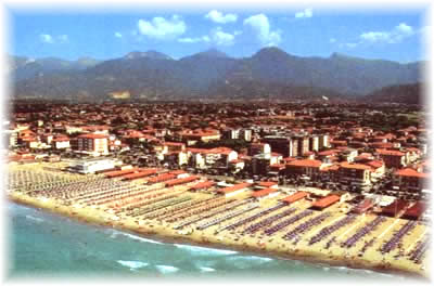 A mixture of private and public beaches at Viareggio offer every conceivable facility